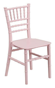 Flash Furniture Kids Pink Resin Chiavari Chair (10 Pack)