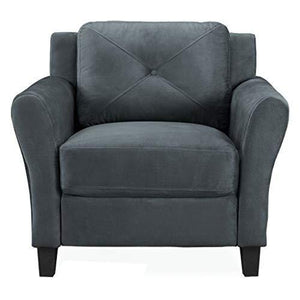 Lifestyle Solutions Cc㢂¬�Hrf㢂¬�Ks1€�M26€�Dg㢂¬�Ra Harrington Chair In Grey, Dark Grey