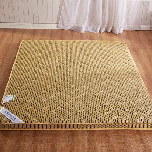 Breathable Moisture Mattress/Student Dormitory Mattress/Thick Tatami Mattress/Foldable Mattress/Double Floor/Carpet-D 180X200Cm(71X79Inch)