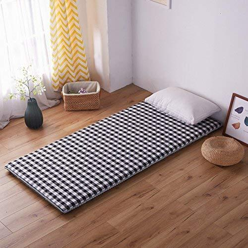 Hxxxy Dormitory Bedding Mattress,Tatami Floor Mat Flannel Plenty Thick Floor Mat-B 120X200Cm(47X79Inch)