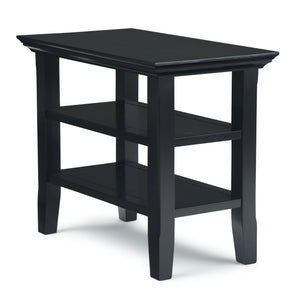Acadian Narrow Side Table in Black
