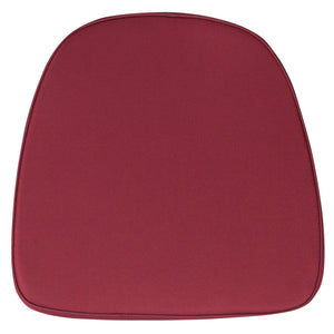 Soft Burgundy Fabric Chiavari Chair Cushion - BH-BURG-GG