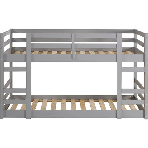 Low Wood Twin Bunk Bed - Grey