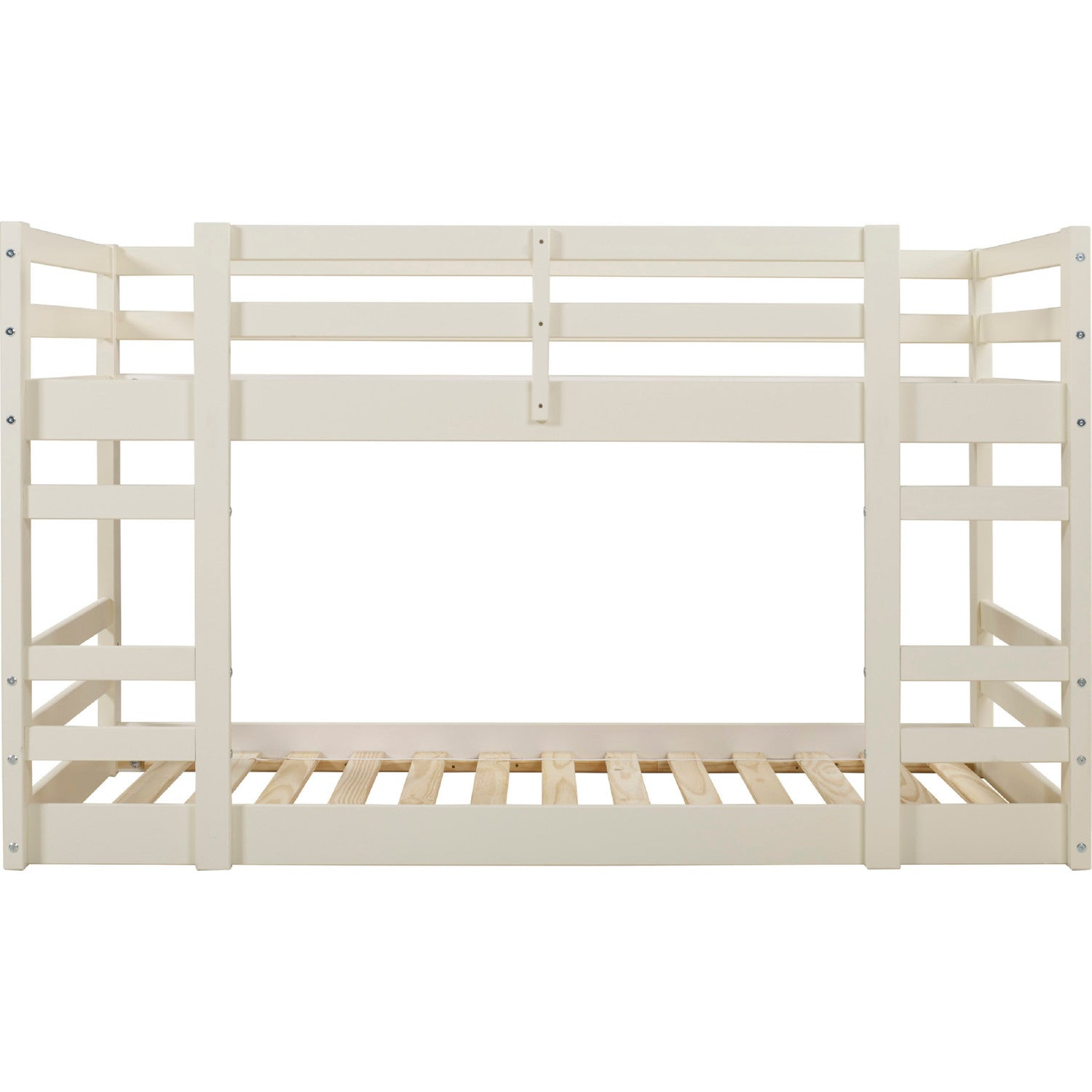 Low Wood Twin Bunk Bed - White