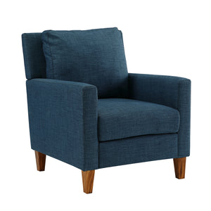 Pillow Back Accent Chair - Blue