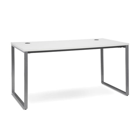 OFM Fulcrum Series 60X30 Desk, Minimalistic Modern Office Desk, White