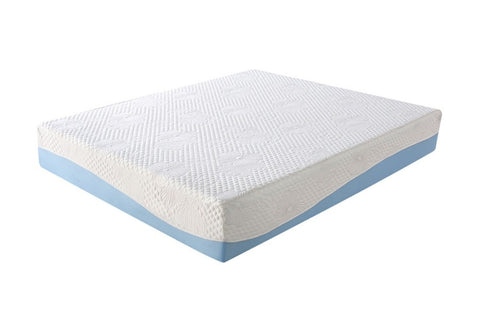 COOL 10 Inch Memory Foam Blue Twin
