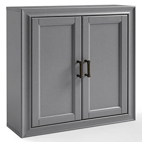 Tara Wall Cabinet In Vintage Grey