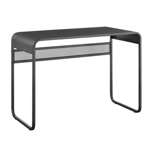 "42"" Metal Desk with curved top - Gunmetal Grey"