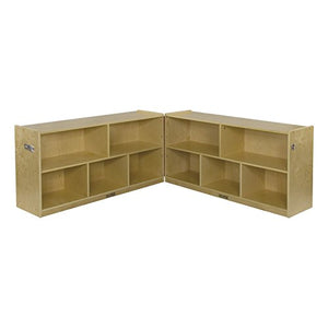 "Birch 24"" Fold and Lock Cabinet - 5 Comp (Pack of 1)"