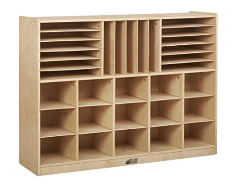 Multi-Section Storage Cabinet w/ 15 Bins - AS (Pack of 1)