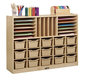 Birch Multi-Section Storage Cabinet (Pack of 1)