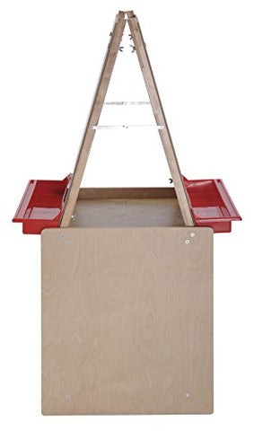 2 Station Art Easel with Storage (Pack of 1)