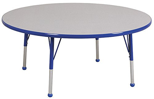 "60"" Round Table Grey/Blue-Toddler Ball (Pack of 1)"