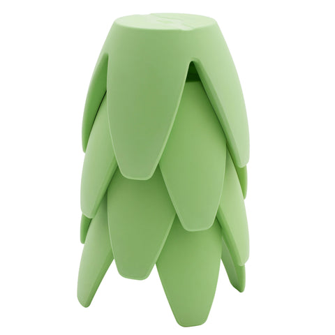 12in Blossom Stool 4-Pack - Light Green