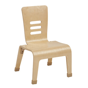 "12"" Bentwood Teacher Chair - Natural (Pack of 2)"