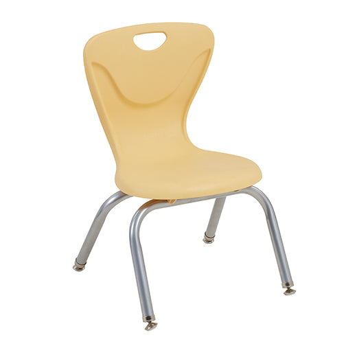 "12"" Contour Chair - Light Grey, (Pack of 4)"