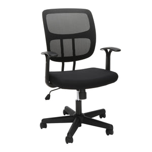 OFM Essentials Series Mesh Office Chair, In Black