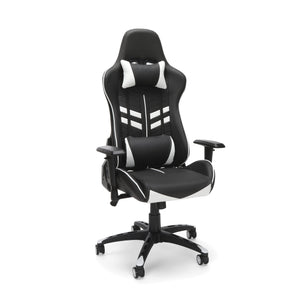 ESSENTIALS Racing Style Gaming Chair White