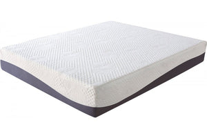 EASE 10 Inch Memory Foam Grey Queen