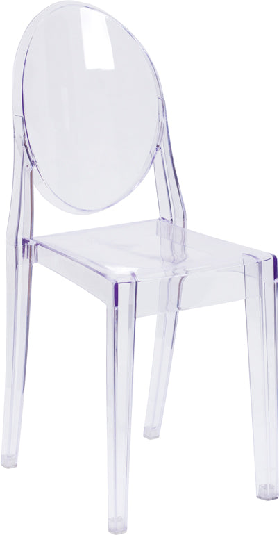 Ghost Side Chair in Transparent Crystal - FH-111-APC-CLR-GG