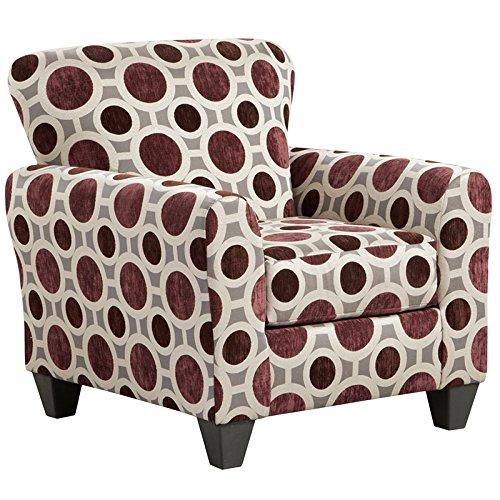 Exceptional Designs by Flash Conspiracy Mulberry Accent Chair