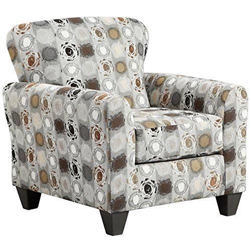 Exceptional Designs by Flash Paint Ball Granite Accent Chair
