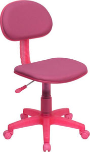 Pink Fabric Swivel Task Chair - BT-698-PINK-GG