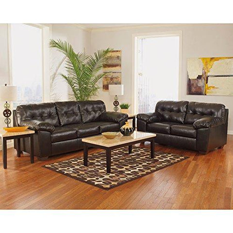 Signature Design by Ashley Alliston Loveseat in Chocolate DuraBlend - FSD-2399LS-CHO-GG
