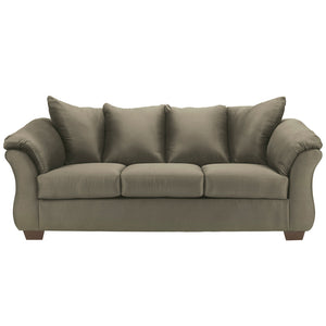 Signature Design by Ashley Darcy Sofa in Sage Microfiber
