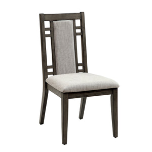 Melik Fabric Padded Dining Chair