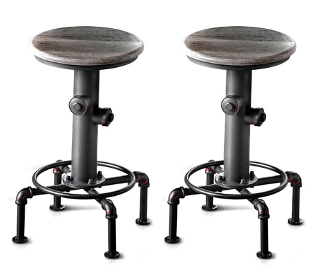 Conan Round Seat Counter Height Stool