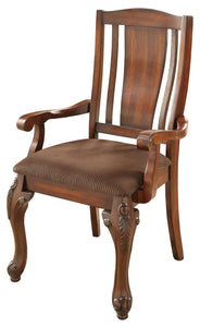 Grettal Cabriole Leg Dining Arm Chair