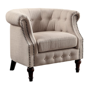 Atiana Rolled Arm Accent Chair