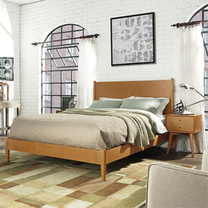 Landon Queen Bedset In Acorn