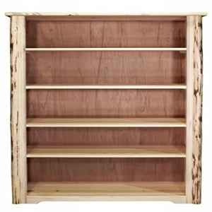 Montana Collection Bookcase, Clear Lacquer Finish
