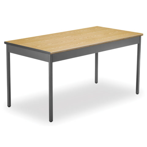 Utility Table 30X60 - Oak