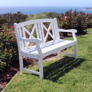V1353 Bradley Outdoor Wood Bench