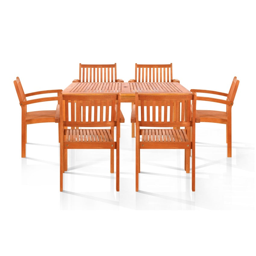 Ayr Six-Seater Dining Set