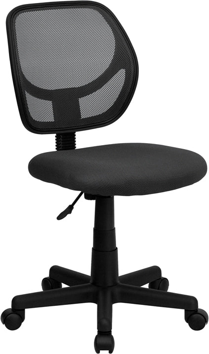 Gray Mesh Swivel Task Chair - WA-3074-GY-GG