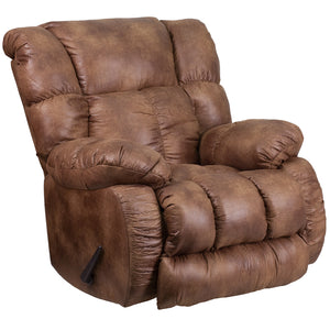 Contemporary Breathable Comfort Padre Almond Fabric Rocker Recliner - WA-8230-691-GG