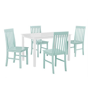 Greyson 5-Piece Dining Set - White/Sage