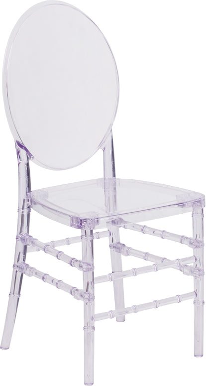 Flash Elegance Crystal Ice Stacking Florence Chair - Y-3-GG