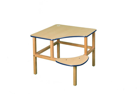 "Adventure Series 23"" Children's Corner Writing Desk - Maple"