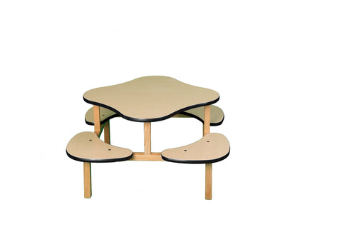 Play Table - maple/black