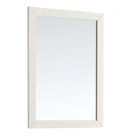 "Paige 30"" x 34"" Large Bath Vanity Dcor Mirror in Soft White"