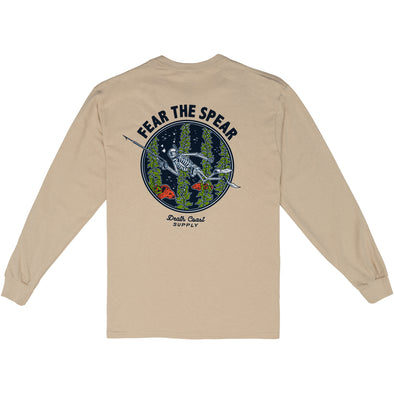 Death Coast Fear Long Sleeve T-shirt
