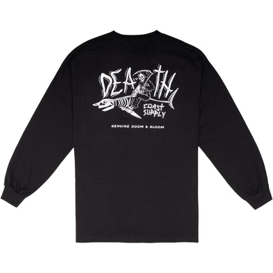 Death Coast Supply Great White Long Sleeve T-shirt