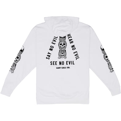 Last Call Co. 3 Rules Pullover Fleece Hoodie