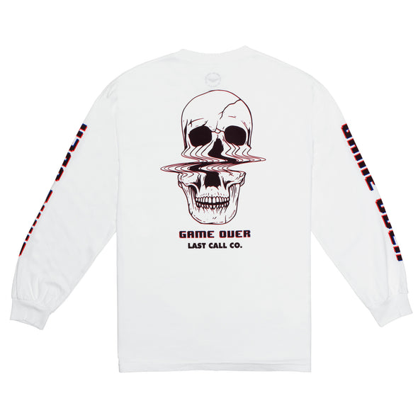 Last Call Co. Game Over Long Sleeve T-shirt * XXL ONLY *